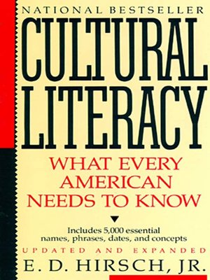 cover image of Cultural Literacy