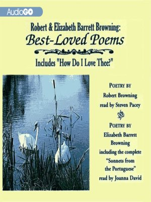 cover image of The Love Letters of Elizabeth Barrett and Robert Browning
