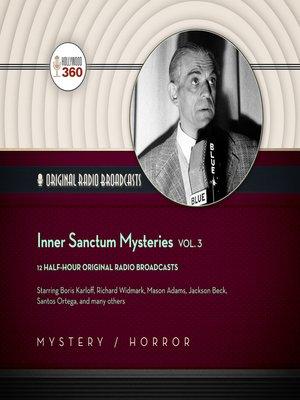 cover image of Inner Sanctum Mysteries, Volume 3