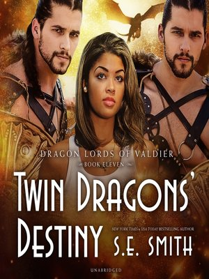 cover image of Twin Dragon's Destiny