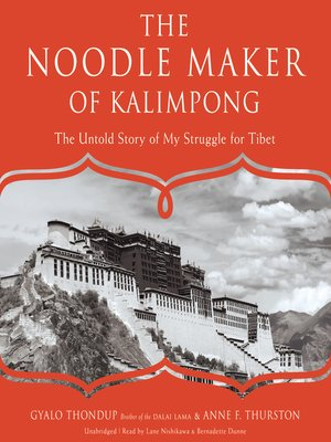 cover image of The Noodle Maker of Kalimpong