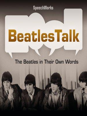 cover image of BeatlesTalk