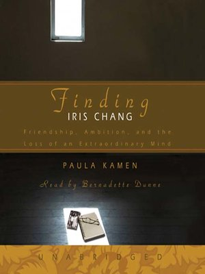 cover image of Finding Iris Chang