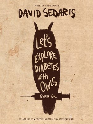 cover image of Let's Explore Diabetes with Owls
