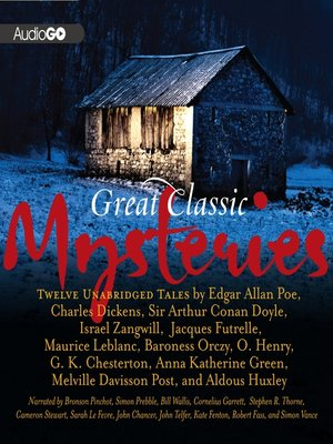 cover image of Great Classic Mysteries