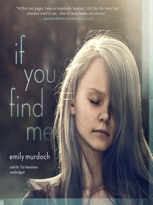 cover image of If You Find Me