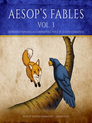 cover image of Aesop's Fables, Volume 3