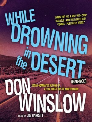 cover image of While Drowning in the Desert
