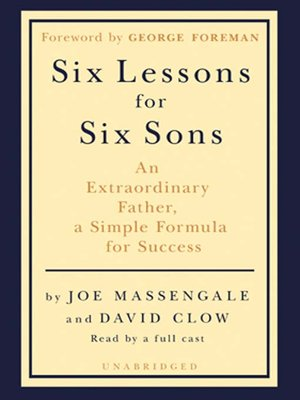 cover image of Six Lessons for Six Sons