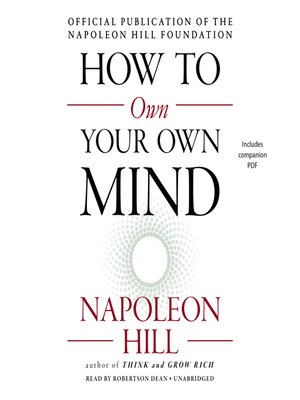 cover image of How to Own Your Own Mind