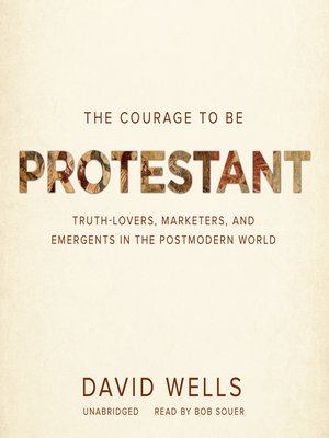 cover image of The Courage to Be Protestant