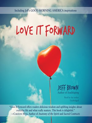 cover image of Love It Forward