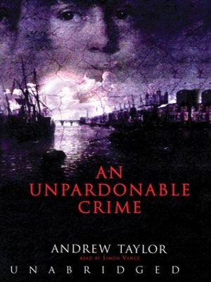 cover image of An Unpardonable Crime