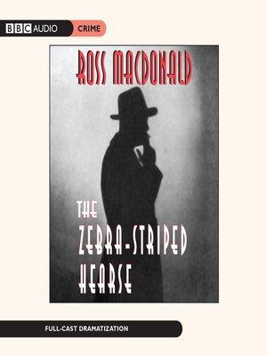 cover image of The Zebra-Striped Hearse