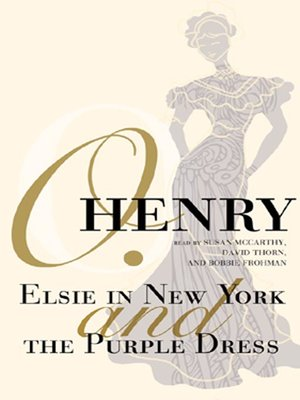 cover image of Elsie in New York and The Purple Dress