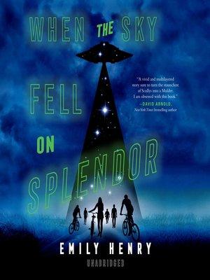 cover image of When the Sky Fell on Splendor