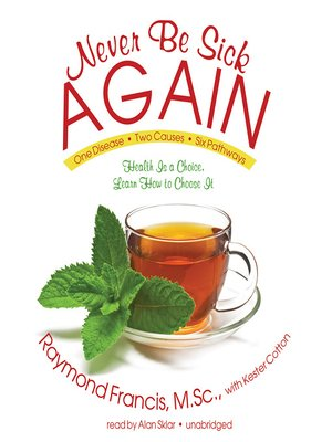 cover image of Never Be Sick Again