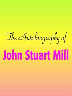 john stuart mill biography pdf