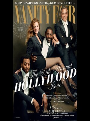 cover image of Vanity Fair: March 2014 Issue