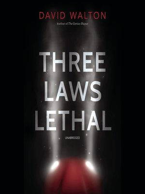 cover image of Three Laws Lethal