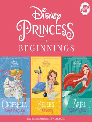 cover image of Cinderella, Belle & Ariel