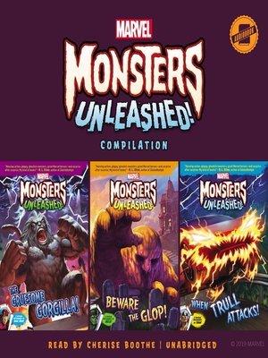 cover image of Marvel Monsters Unleashed Compilation