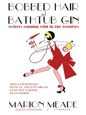 cover image of Bobbed Hair and Bathtub Gin