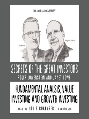 cover image of Fundamental Analysis, Value Investing and Growth Investing