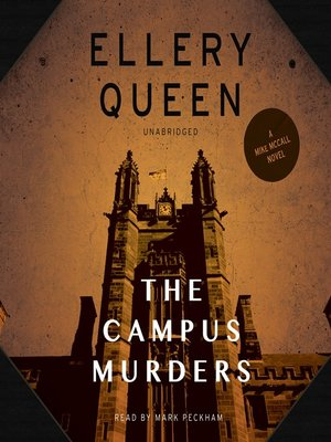 cover image of The Campus Murders