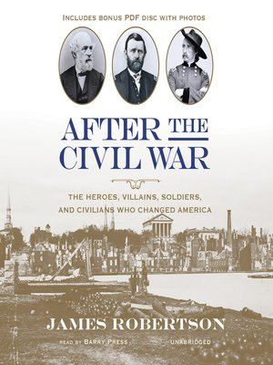 cover image of After the Civil War