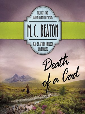 cover image of Death of a Cad