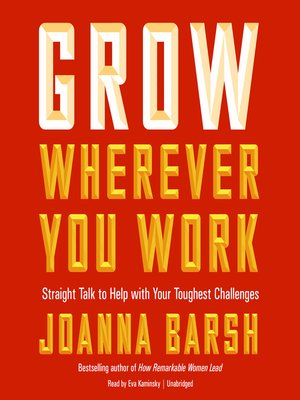 cover image of Grow Wherever You Work