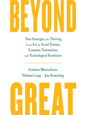 cover image of Beyond Great