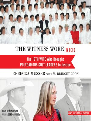 cover image of The Witness Wore Red