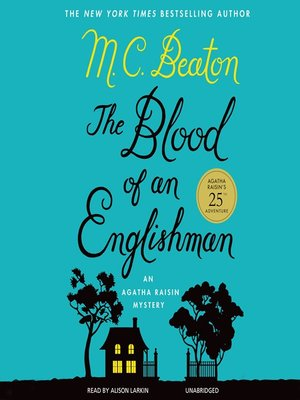 cover image of Blood of an Englishman