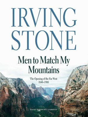 cover image of Men to Match My Mountains