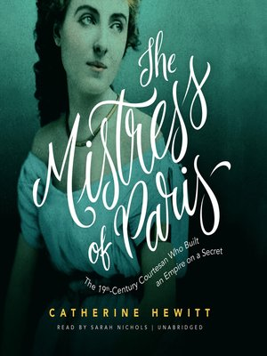 cover image of The Mistress of Paris