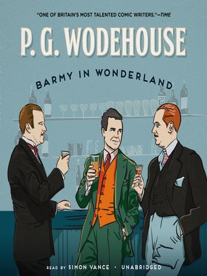 cover image of Barmy in Wonderland