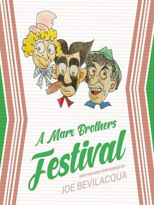 cover image of A Marx Brothers Festival