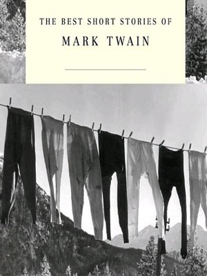 cover image of The Best Short Stories of Mark Twain