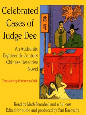 cover image of Celebrated Cases of Judge Dee