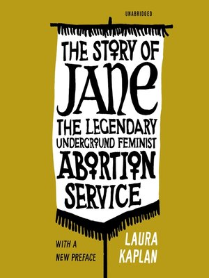 cover image of The Story of Jane