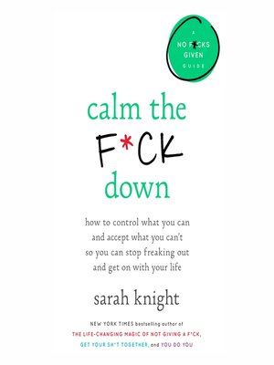 cover image of Calm the F*ck Down