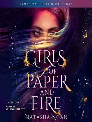 cover image of Girls of Paper and Fire