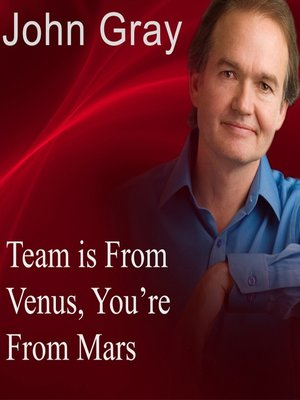 cover image of Team is from Venus, You're from Mars