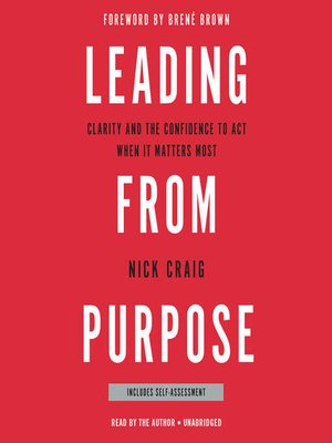 cover image of Leading from Purpose