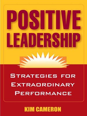 cover image of Positive Leadership