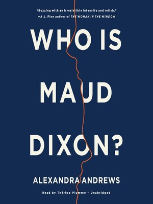 cover image of Who Is Maud Dixon?