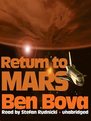 cover image of Return to Mars