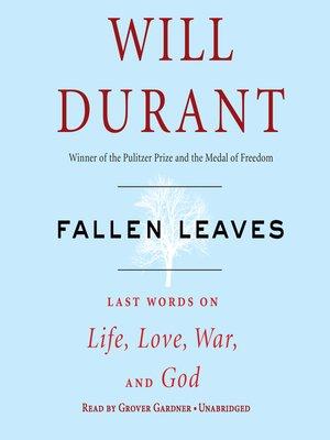 fallen leaves will durant pdf